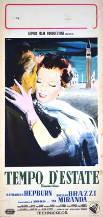 Vacances A Venise par David Lean (35 x 70 cm)