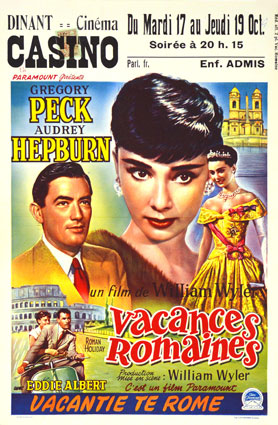 Vacances Romaines par William Wyler