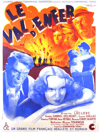 Val D'enfer (le) by Maurice Tourneur (47 x 63 in)