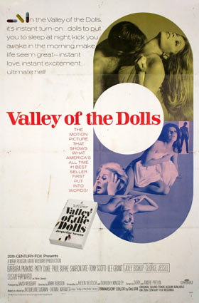 Valley Of The Dolls by Mark Robson (27 x 41 in)