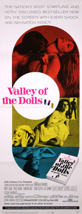 Valley Of The Dolls by Mark Robson (14 x 36 in)