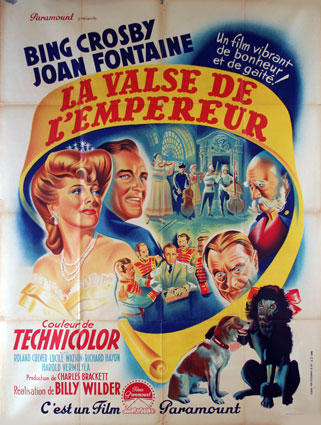 Emperor Waltz (the) by Billy Wilder (47 x 63 in)