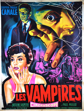 Vampiri (i) by Mario Bava (47 x 63 in)