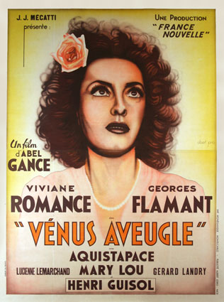 Venus Aveugle by Abel Gance (47 x 63 in)