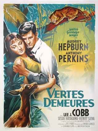 Green Mansions by Mel Ferrer (47 x 63 in)