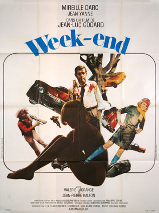 Week End par Jean Luc Godard