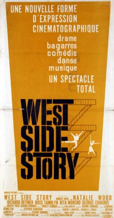 West Side Story par Robert Wise (40 x 80 cm)