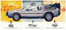 BACK TO THE FUTURE (set of 3 posters)