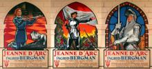 JEANNE D'ARC (set of 3 posters)