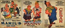 MARIUS FANNY CESAR (set of 3 posters)